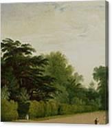 Kensington Gardens Canvas Print