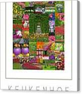 Keukenhof Gardens Poster Canvas Print