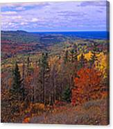 Keweenaw Peninsula And Copper Harbor Canvas Print