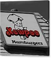 Kewpee Restaurant Canvas Print