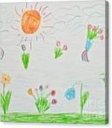 Kid's Artwork Canvas Print