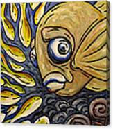 Responsible Fish Canvas Print
