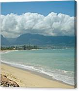 Kite Beach Kanaha Maui Hawaii Canvas Print