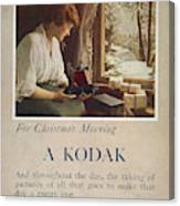 Kodak Advertisement, 1914 Canvas Print