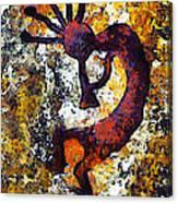 Kokopelli The Flute Player Canvas Print