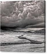 Kootenai Wildlife Refuge In Infrared 2 Canvas Print