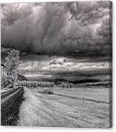 Kootenai Wildlife Refuge In Infrared 3 Canvas Print