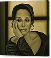 Kristin Scott Thomas Canvas Print