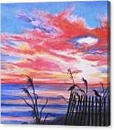 Ks Sunrise Canvas Print