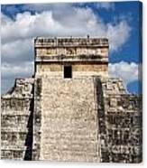 Kukulkan Pyramid At Chichen Itza Canvas Print