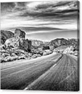 Kyle Canyon Road Canvas Print