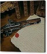 La Lettre Canvas Print