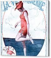 La Vie Parisienne 1918 1910s France Canvas Print