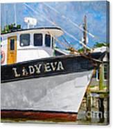 Lady Eva Canvas Print