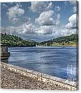 Ladybower Dam Canvas Print