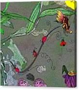 Ladybug Slide Canvas Print