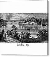 Lake Erie - 1815 Canvas Print