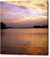 Lake Lanier Sunset Canvas Print