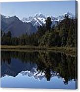 Lake Matheson New Zealand Canvas Print