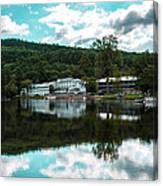 Lake Morey Inn And Resort Canvas Print