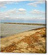 Lake Ontario Shoreline Canvas Print