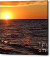 Lake Ontario Sunset Canvas Print