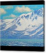 Lake Tahoe After The Storm Triptych Canvas Print