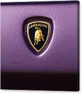 Lamborghini Diablo Se Roadster Emblem Canvas Print