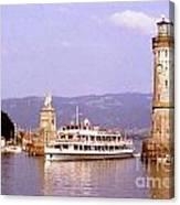Landau Harbor Entrance Canvas Print