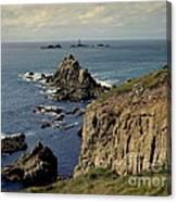 Seascape Lands End Canvas Print