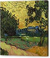 Landscape At Twilight Canvas Print
