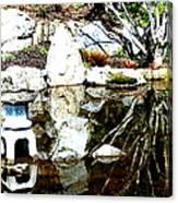 Stone Lantern  Canvas Print