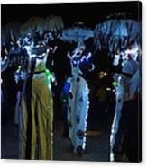 Lantern Parade In Patterson Park Canvas Print