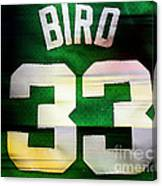 Larry Bird Canvas Print