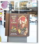 Las Vegas - Fremont Street Experience - 12128 Canvas Print
