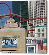 Las Vegas - New York New York Casino - 12128 Canvas Print