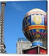 Las Vegas - Paris Casino - 12127 Canvas Print