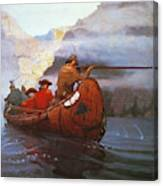 Last Of The Mohicans, 1919 Canvas Print