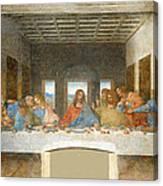 Last Supper Canvas Print