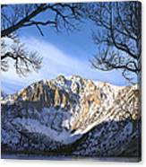Laurel Mt And Convict Lake Sierra Canvas Print