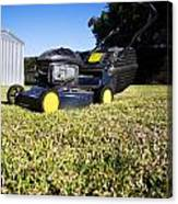 Lawn Mower Canvas Print