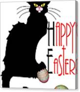 Le Chat Noir - Easter Canvas Print