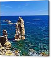 Le Colonne - San Pietro Island Canvas Print