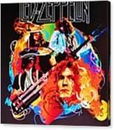 Led Zeppelin Art Canvas Print