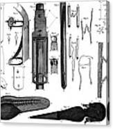 Leeuwenhoek: Microscope Canvas Print
