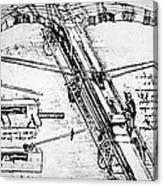 Leonardo: Invention Canvas Print