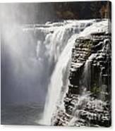 Letchworth High Falls Canvas Print