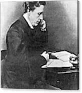 Lewis Carroll Alias Charles Lutwidge Canvas Print