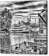 Liberty Square Riverboat Canvas Print