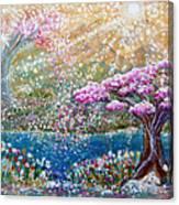 Light Of Spring Canvas Print